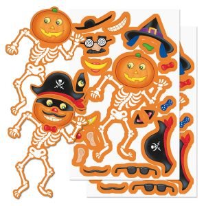 Build a Jack-o'-Lantern Stickers