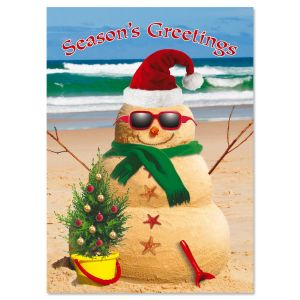 Holiday Sandman Christmas Cards