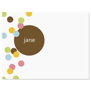 Confetti Correspondence Cards