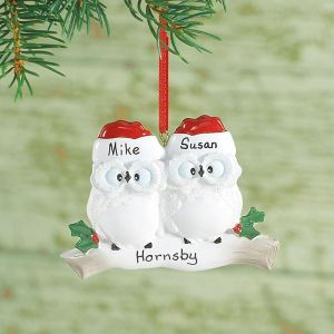 Owl Family Ornament