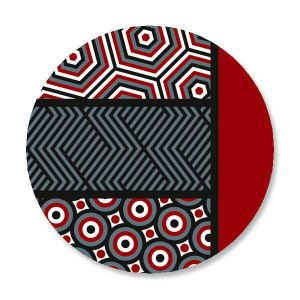 Op Art Seals