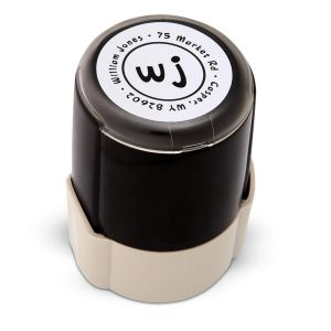 Duo Initials Self-Inking Stamp