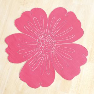 Pink Tropical Flower Placemat