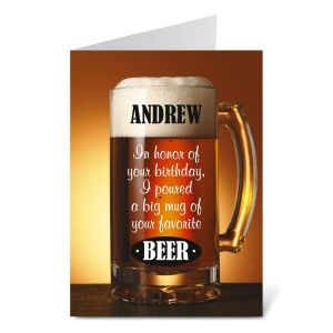 Beer Create-A-Card
