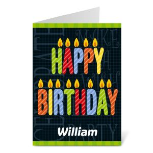 Birthday Candles Select-a-Card