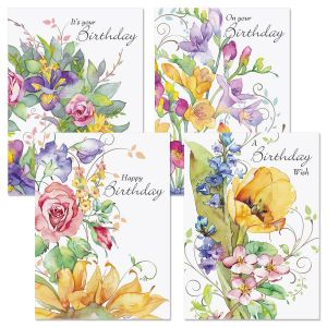 Sweet Remebrances Birthday Cards & Seals