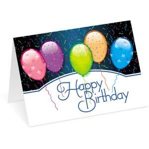 Birthday Balloons Birthday Cards