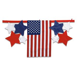 Flag and Stars Bunting