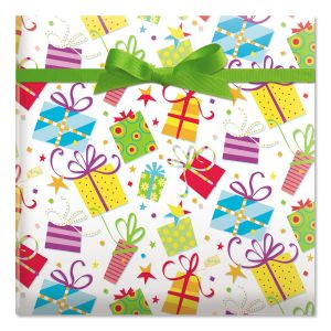 Surprise Package Jumbo Rolled Gift Wrap