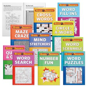 Brain Teaser Books Value Pack