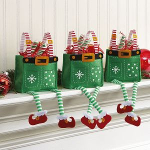 Elf Pants Treat Bags