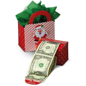 Happy Santa Money Dispenser & Gift Box Set