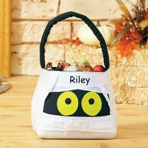 Personalized Mummy Trick or Treat Bag