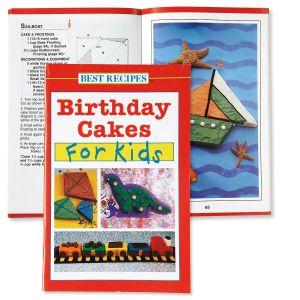 Birthday Cakes for Kids Recipe Book