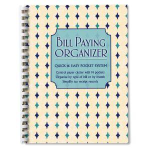 Mosaic Pattern Bill Paying Organizer