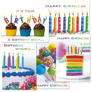 Colorful Celebrations Birthday Cards