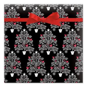Whimsy Tree Jumbo Rolled Gift Wrap