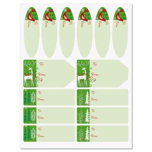 Reindeer Forest Labels