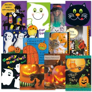 Halloween Cards Value Pack