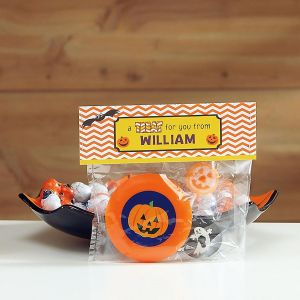 Graphic Treat Bag Toppers