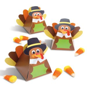 Turkey Favor Boxes - BOGO