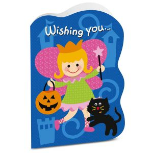 Girl Halloween Card