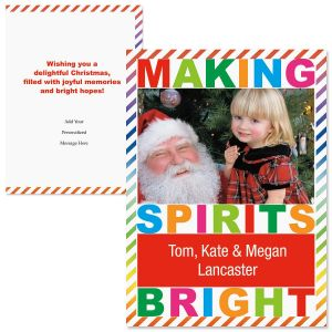 Merry and Bright Photo Christmas Cards