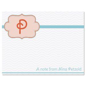Monogram Detail Note Cards