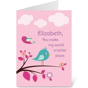 Birdsong Create-A-Card