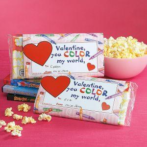Valentine Popcorn Sleeves