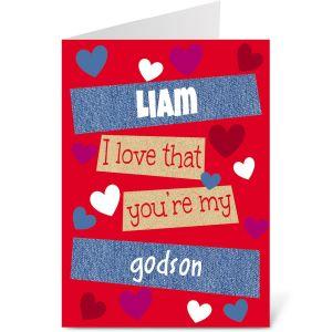 Special Boy Valentine Create-A-Card