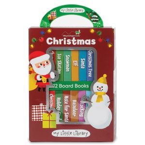 My Little Library Christmas Books
