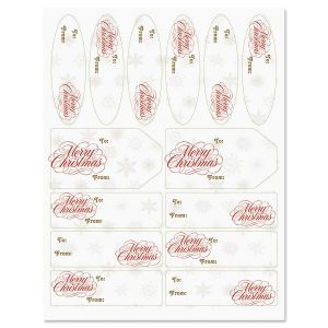 Christmas Elegance Gift Labels