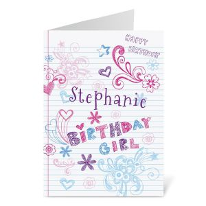 Doodle Birthday Create-A-Card
