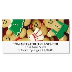 Gingerbread Cookies Deluxe Address Labels
