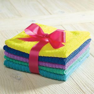 Bright Microfiber Cleaning Cloths