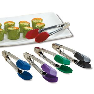 Colorful Kitchen Mini Pickle-Picker Tongs