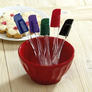 Colorful Kitchen Mini Silicone Spatulas