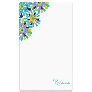 Fresh Blooms Notepad