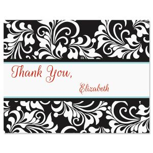 Opulent Personalized Thank You Cards