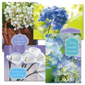 Floral Memories Sympathy Cards