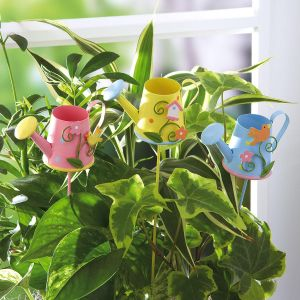 Watering Can Design Plant Stakes