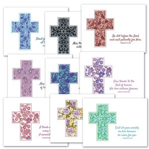 Cross and Scripture Note Cards