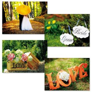 Simple Scenes Wedding Cards