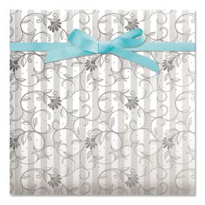 Wedding Jumbo Rolled Gift Wrap