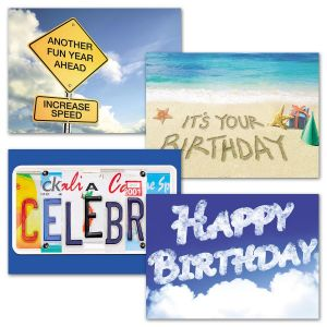 It's A Sign Birthday Cards & Seals