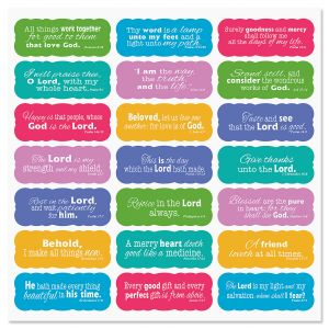Scripture Stickers - BOGO