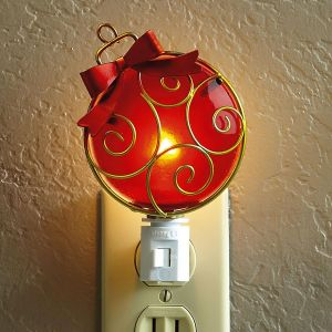 Christmas Ornament Night Light