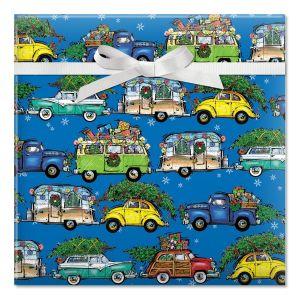 Christmas Vacation Jumbo Rolled Gift Wrap