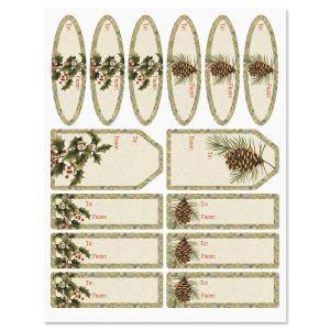 Botanical Windows Labels